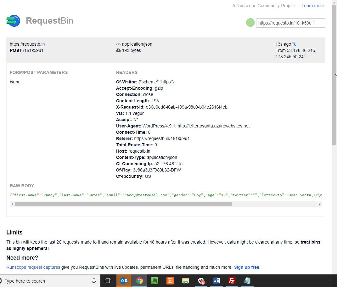 requestBin
