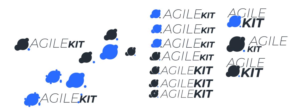 AgileKit Brand - Designing the Mark 1